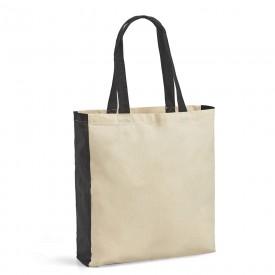 Памучна торбичка с цветни детайли