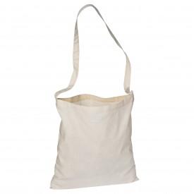 Памучна торбичка с дълга дръжка