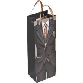 Подаръчна чанта за вино за мъже