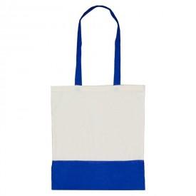 Пазарска чанта с двуцветен дизайн