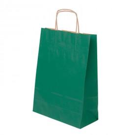 Зелена хартиена чанта