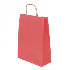 Червена хартиена чанта