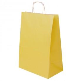 Жълта хартиена чанта