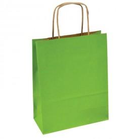 Хартиена торбичка - светло зелена