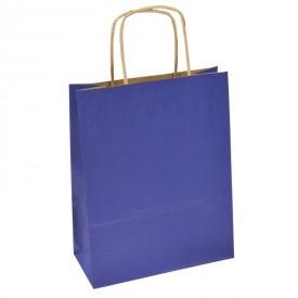Хартиена торбичка - турско синьо