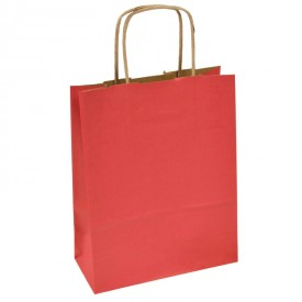 Рекламна хартиена торбичка - червена