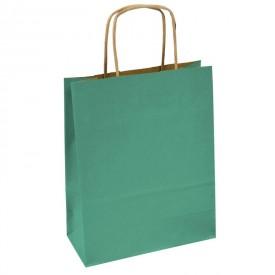 Хартиена торбичка - маслено зелена