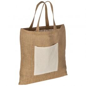Торбичка от юта с преден джоб