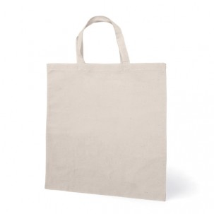 Памучна торбичка с къси дръжки